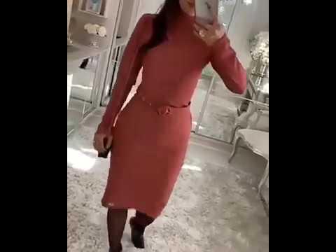 Vestido Maria Amore moda evangélica - Outono-inverno 2019-2020