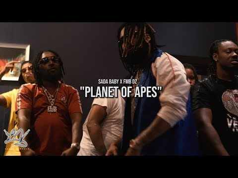Planet of Apes- Sada Baby x FMB DZ (Official Music Video) Sh