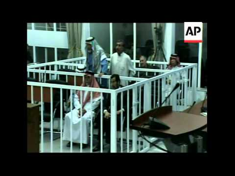 First session of Saddam Hussein's trial