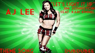 "WWE Theme Songs - 4th AJ Lee ""Let"