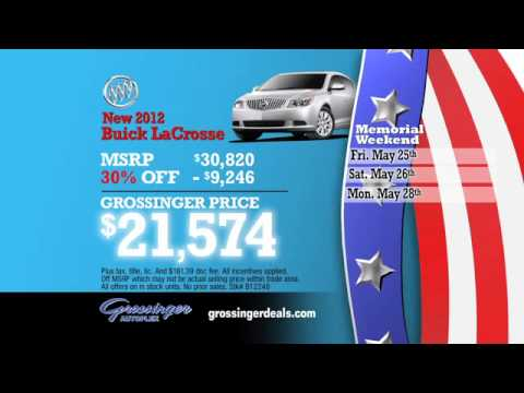 Memorial Day Sale on New Buicks & GMCs!