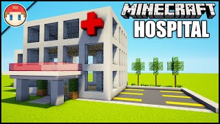 Minecraft How to Build an Easy Hospital
