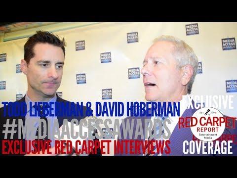Todd Lieberman & David Hoberman interviewed at the Media Access Awards