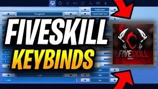 FIVESKILL KEYBINDS AND SETTINGS (FASTEST FORTNITE BUILDER)