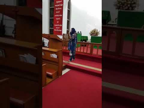I with Gospel Singer Sister Tehmina Tariq Playing Keyboard In Singapore Perish Christ Church 30/9/17