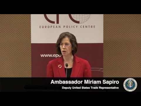Deputy USTR Sapiro on the Transatlantic Innovation Action Partnership