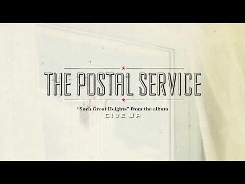 The Postal Service Such Great Heights Lyric Video Spanish English Subtitulado Espanol Youtube