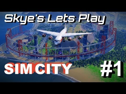 SimCity 2013 Part 1 ► Building a Complete Region - SimCity Cities of Tomorrow Gameplay