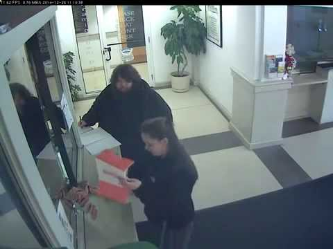 Crazy Woman in Police Station