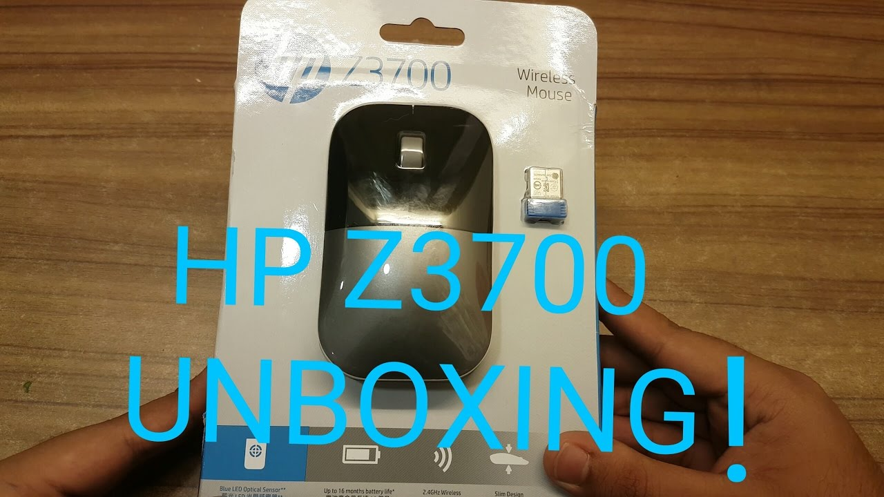 Hp Z3700 Wireless Blue Led Mouse Wire Center Ammetervoltmetertransducer Meters Diagram Unboxing Youtube Rh Com Keyboard