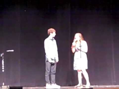 """Alex Hatoff and Jamie Palmer """"Just Give Me a Reason"""" at the 2013 Lenape Pops Concert"""