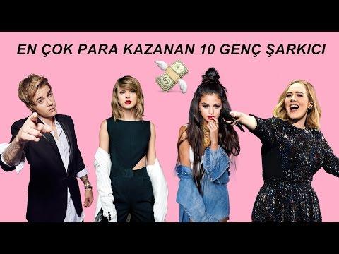 En Çok Para Kazanan 10 Genç Şarkıcı