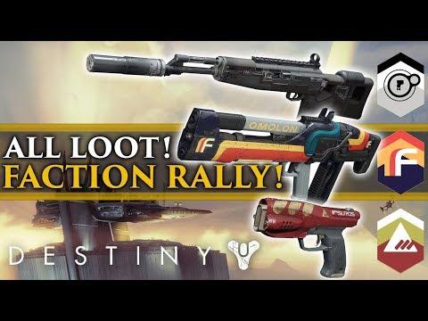 Destiny 2 News - New Faction rally event! New Destiny 2 Faction Loot!