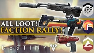 Destiny 2 News - New Faction rally event! New Destiny 2 Faction Loot!