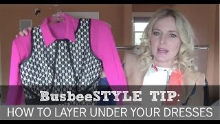 How To Layer Under Your Dresses