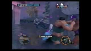 SAINTS ROW 3 TWO vs ONE BRUTES FIGHT ON WATER