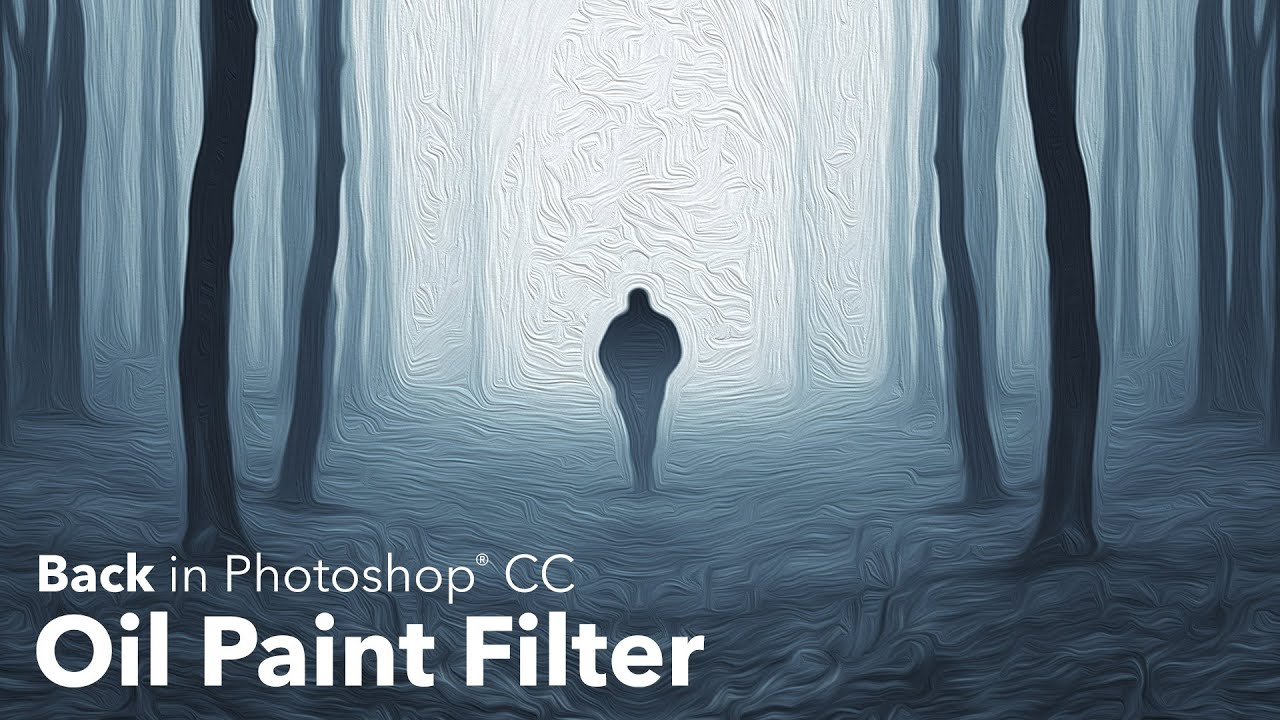 Use the Oil Paint filter in Photoshop