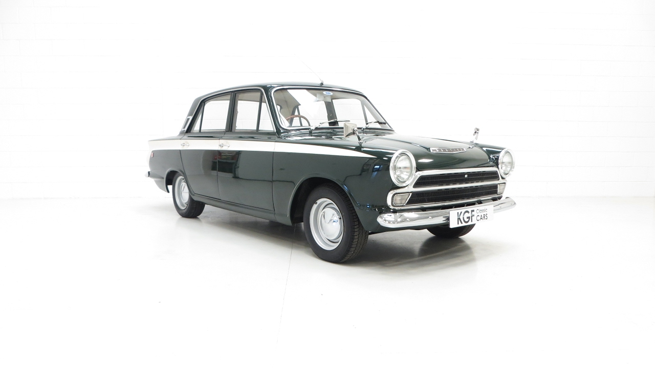 A Very Rare and Genuine Mk1 Ford Cortina GT in Fabulous Condition - SOLD!