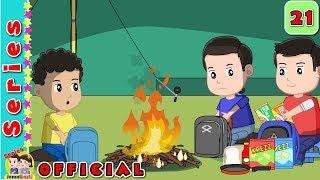 #21 Berkemah#Said Membuat Api Unggun#Jamal Laeli Series Official