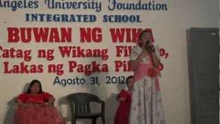 Tagumpay Nating Lahat - Raigne's Version (Buwan ng Wika Celebration 2012)