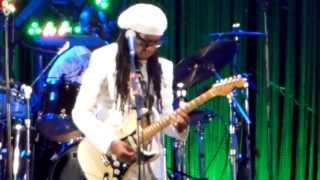 "Nile Rodgers & Chic ""Spacer"" 29/06/2013 Enghein les Bains"