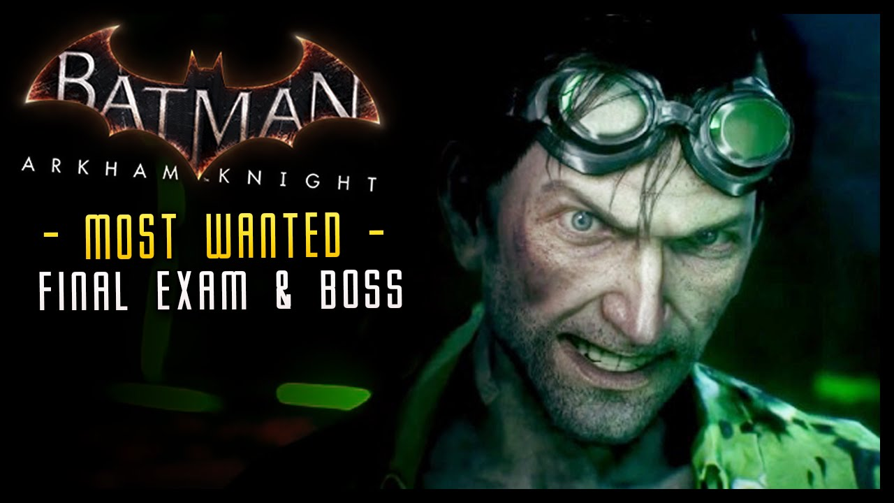 how to get to arkham knight boss fight area