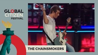 The Chainsmokers Perform 'Don't Let Me Down' | Global Citizen Festival NYC 2017