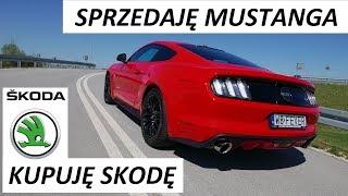 SPRZEDAJĘ Mustanga KUPUJĘ Skodę  V8 VLog