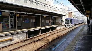 阪神5500系があっという間にいなくなった