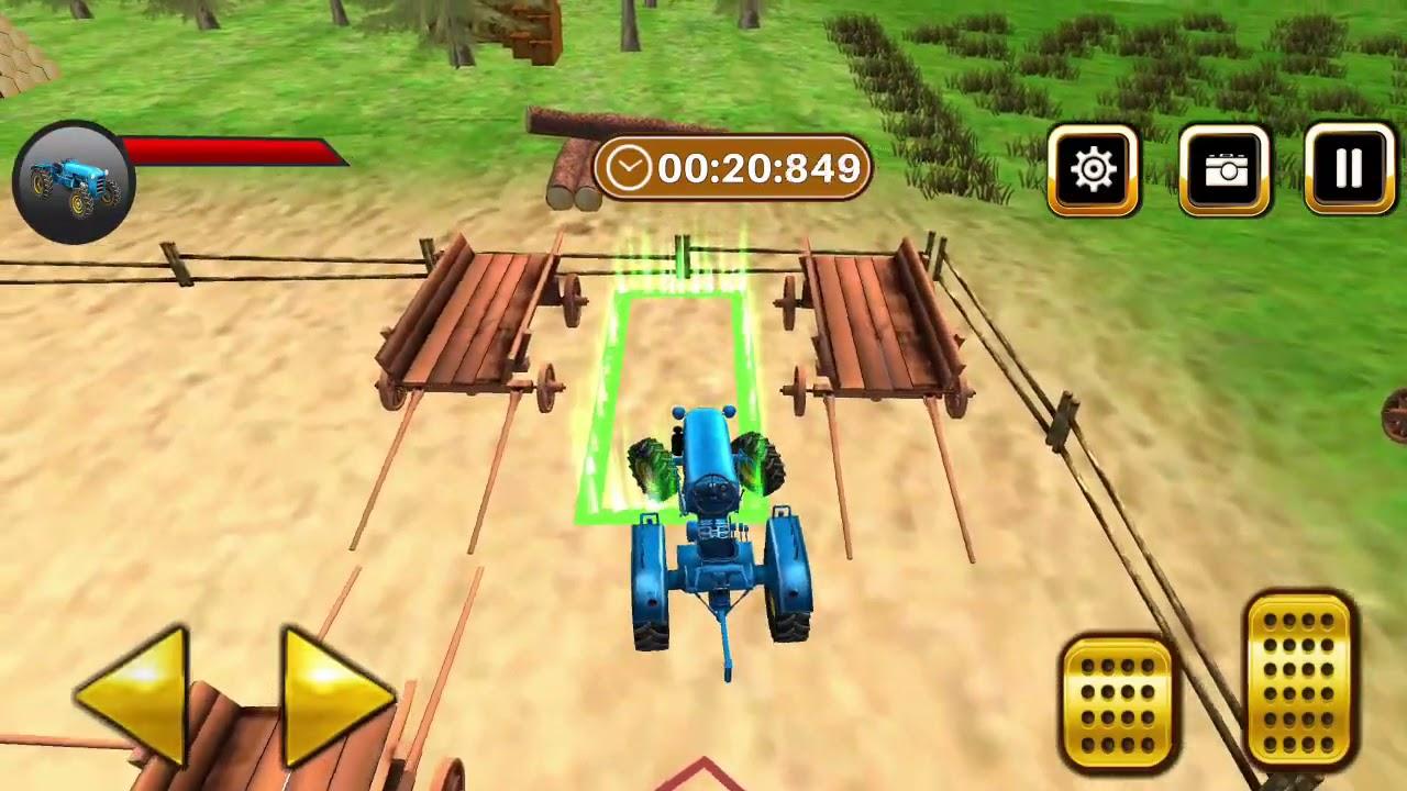 Jocuri Cu Tractoare - Parcarea tractorului agricol este un joc gratuit de conducere a tractorului !