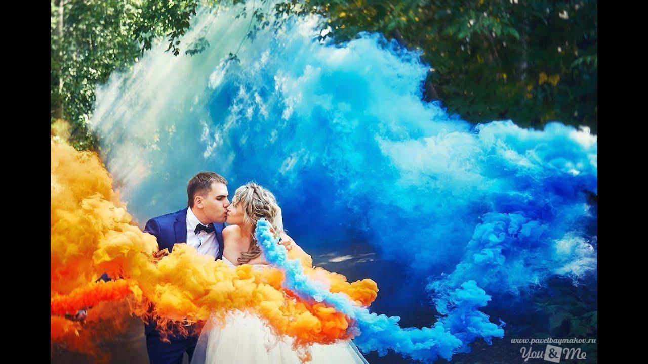 цветной дым фото