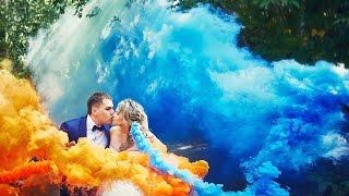цветной дым   синий и оранжевый дымовые шашки в Туле