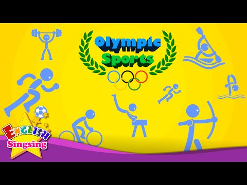 Kids vocabulary - Olympic Sports - Game of Sports - Learn En