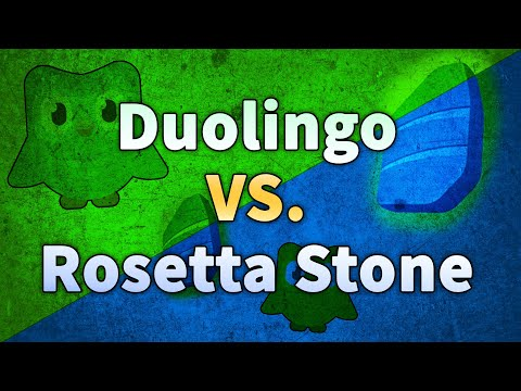 Duolingo Versus Rosetta Stone: Gamified Versus Systematic Language Learning
