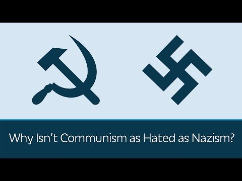 Why Isnt Communism as Hated as Nazism?