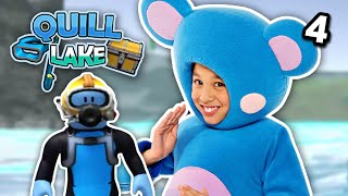 Roblox | Scuba Diving At Quill Lake With Eep EP4 | Mother Goose Club Let's Play