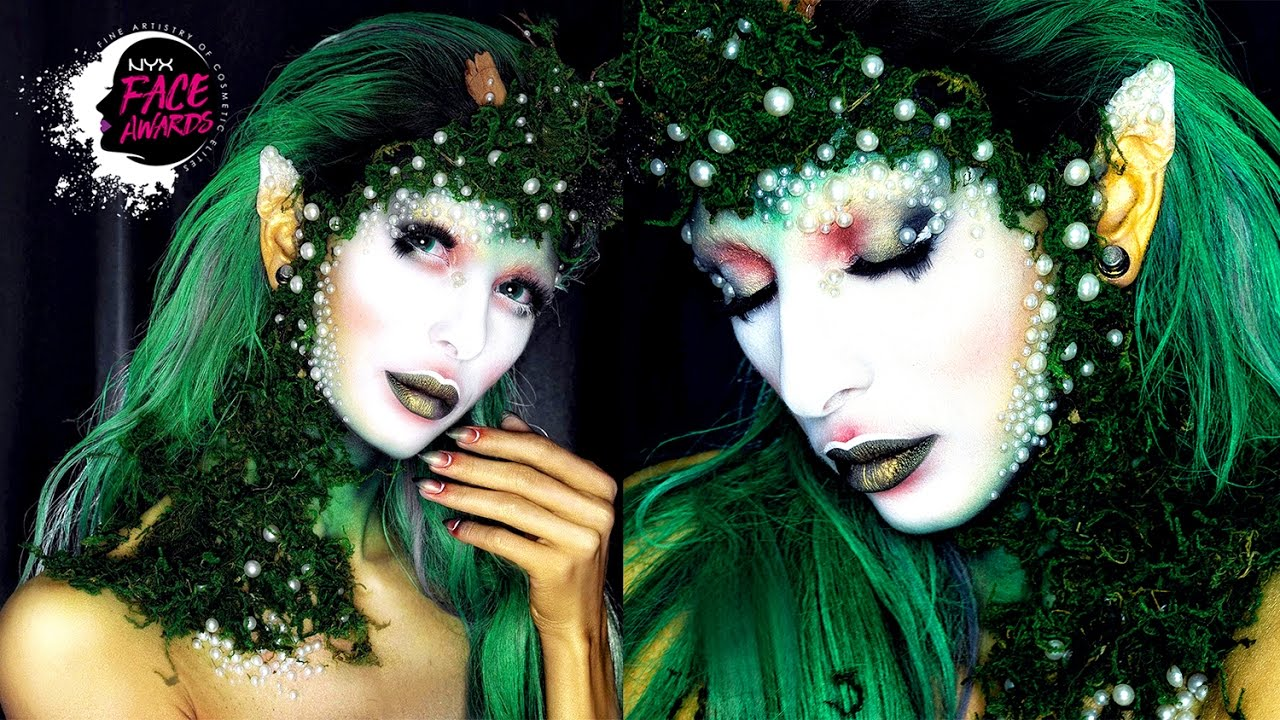 NYX FACE AWARDS TOP20 Nature Goddess | Martyna Molenda