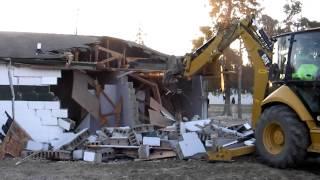 Plain City, Ohio's Pastime Park Restroom Demolition