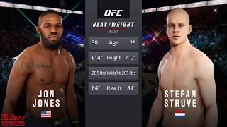 Jon Jones Vs Stefan Struve -  EA SPORTS TV