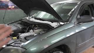 Chrysler короткое замыкание , страшный сон для электрика