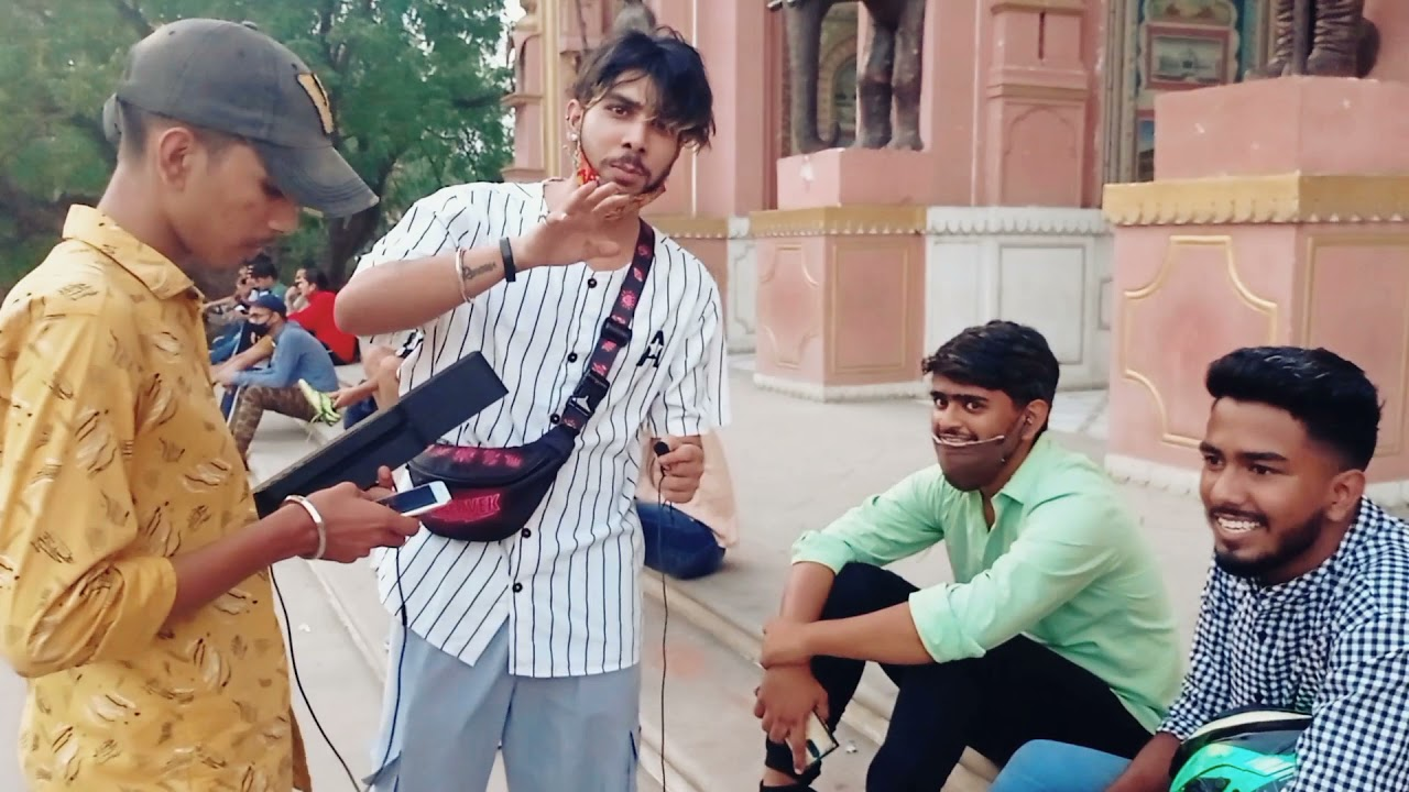 First Time Rap In Public And I Do Last Time Freestyle In Public In Jaipur🤣