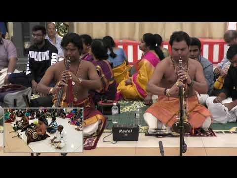 Balamurugan And Kumuran Group At Sydney Murugan Temple - Navaarthiri Pooja - Day 6