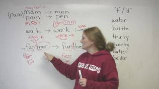 English Pronunciation - 4 Common Mistakes