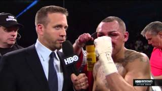 Max Kellerman's Chaotic Post-Fight Interview
