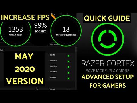 Razer Cortex Game Booster Advanced Setup For Gamers | INCREASE FPS|Reduce Lag | Valorant Lag Fix