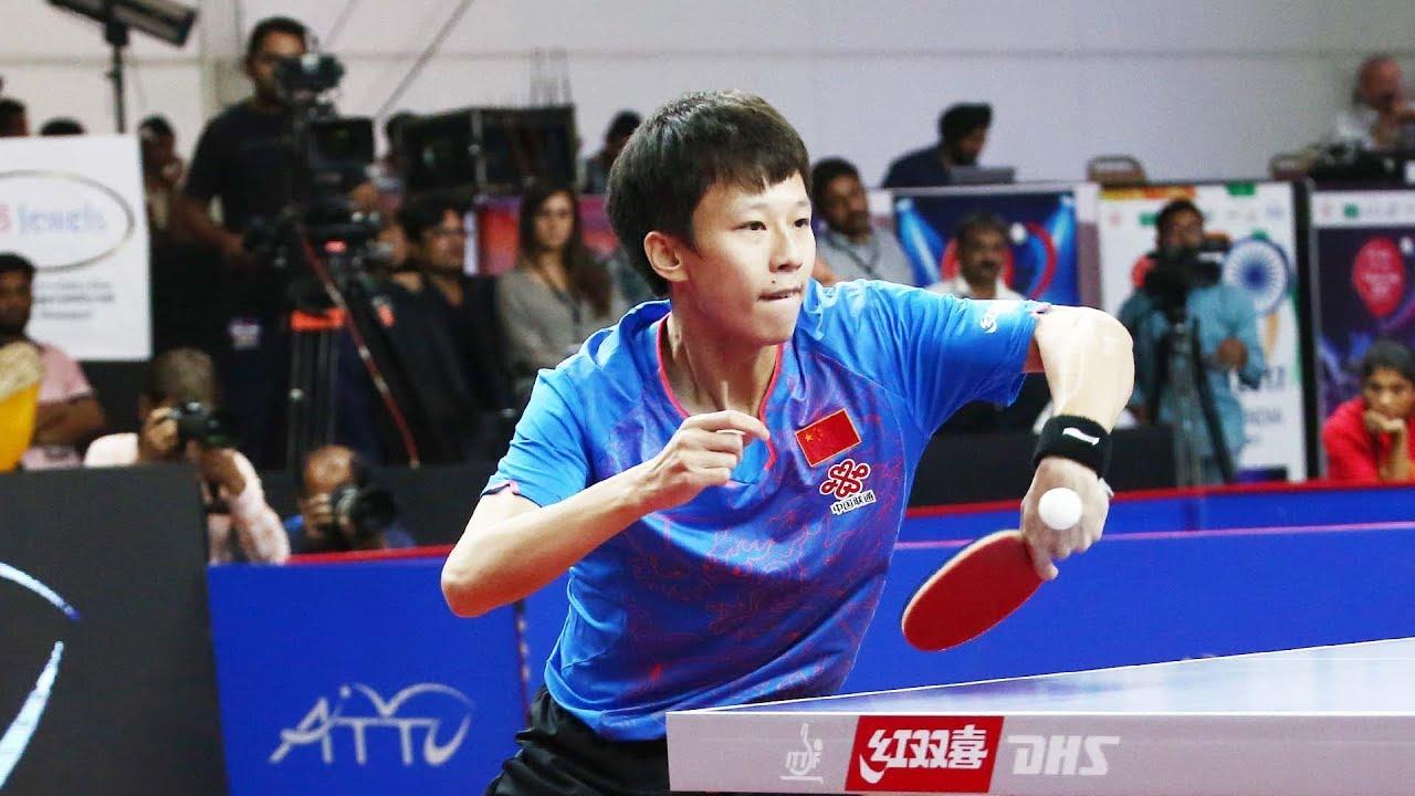 Lin Gaoyuan Backhand Flick Technique Slowmotion Table Tennis Technique Youtube Tennis Techniques Table Tennis Tennis