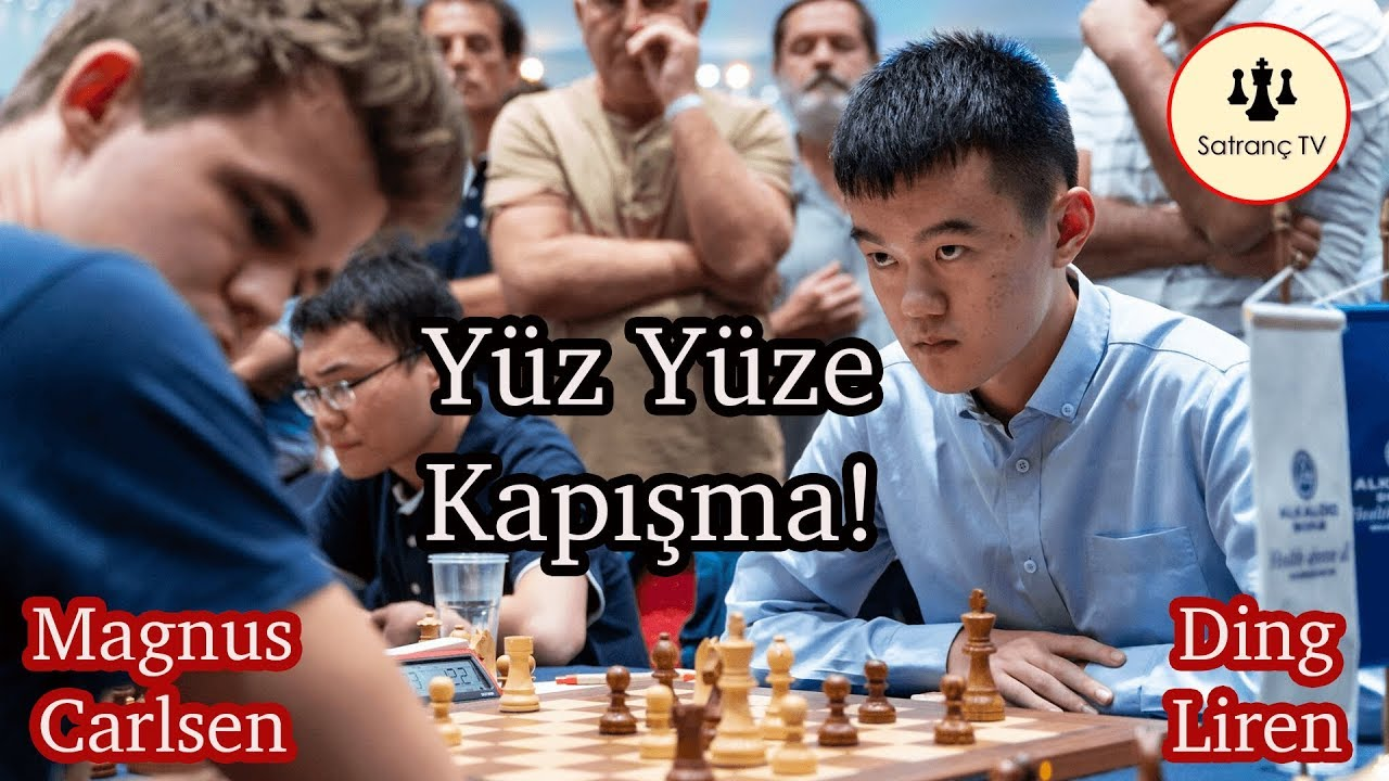 Carlsen vs Liren   Yüz Yüze Kapışma!