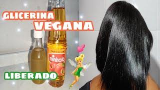 Glicerina Vegana para os Cabelos – Hidratado e da Brilho