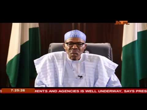 Image result for buhari speech