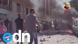Syria school bomb blasts: Video shows horrifying aftermath